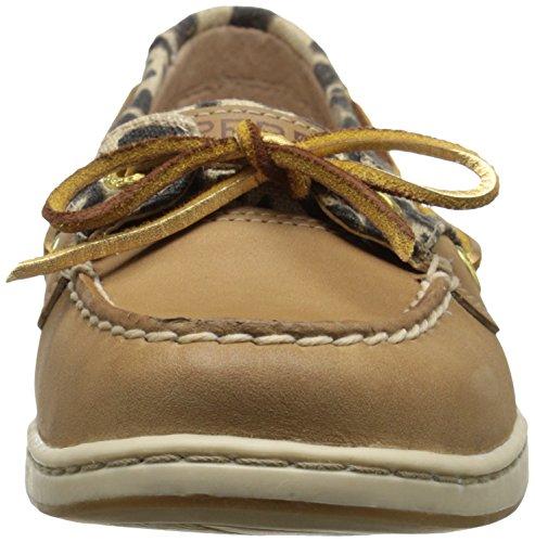 Sperry Top-Sider Angelfish Core, Chaussures bateau femme Leopard Linen
