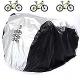 aiskaer Nylon Wasserdicht Fahrrad Outdoor Regen Schutzfolie für 3bikes-dustproof und Sonnenschutzmittel. Große Größe für 29er Mountainbike, E-Bike Cover, No keyhole