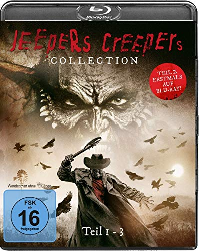 Jeepers Creepers Collection 1-3 [Blu-ray]
