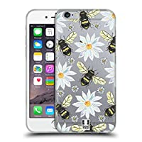 Head Case Designs Bees Watercolour Insects Soft Gel Case Compatible for iPhone 6 / iPhone 6s