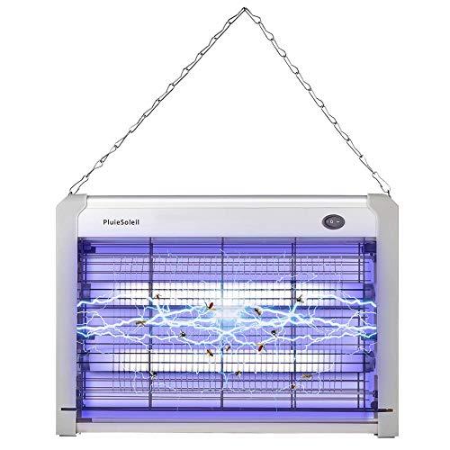 PluieSoleil Elektrischer Drinnen UV Insektenvernichter Lampe, Effizient Moskito Mörder Licht, Moskito Lampe mit 2000V Gitter 20W - Was Ist Speisekammer Amazon