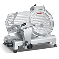 Andrew James 10 Inch Stainless Steel Slami Slicer Meat Slicer_(Meatslicer10inch)