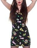 Jawbreaker Kleid Twisted Fast Food Cut-Out Dress 8054 Schwarz S