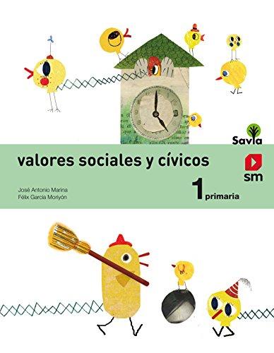 Valores sociales y cívicos 1 primaria savia