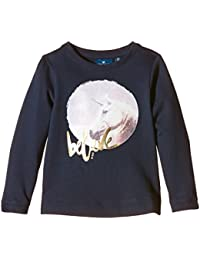 TOM TAILOR Kids Sweatshirt With Cute Unicorn/510, Fille