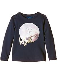 TOM TAILOR Kids Sweatshirt With Cute Unicorn/510, Fille
