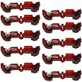 10 stuks T-aftakverbinders/snelverbinders/stroomdief rood 0,5-1,5 mm²