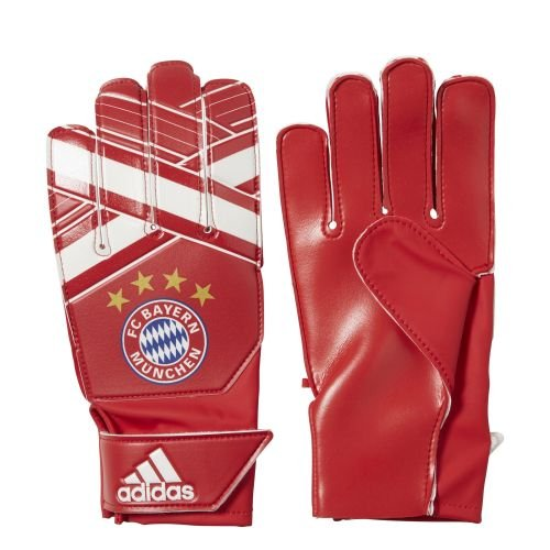 Adidas Torwarthandschuhe Ace Young Pro FC Bayern München Kinder Rot, OscWare_TWHandsch:Gr. 4