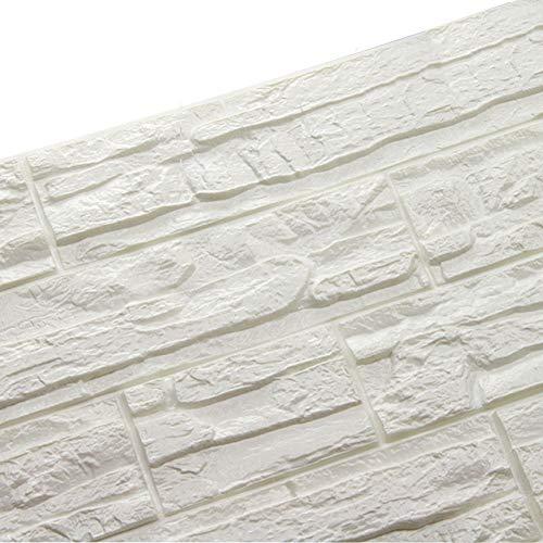 WANWEITONG 3D Papel Pintado ladrillo