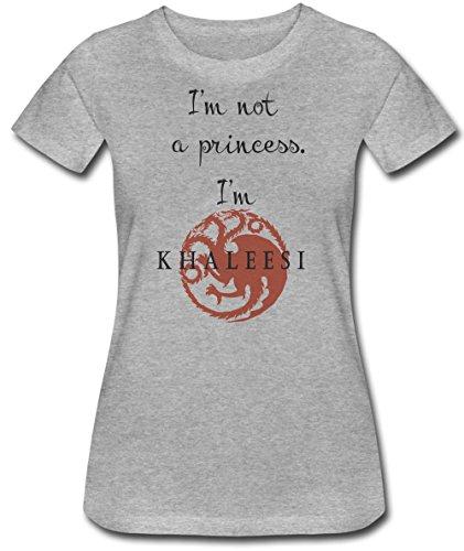 Im-Not-A-Princess-Im-Khaleesi-La-camiseta-de-las-mujeres
