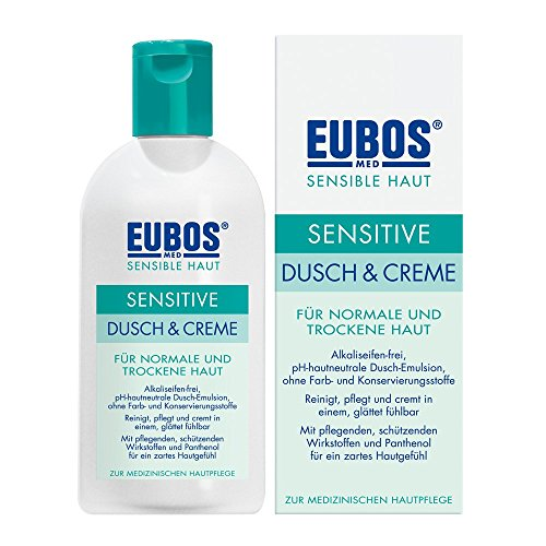 EUBOS SENSITIVE Dusch & Creme, 200 ml