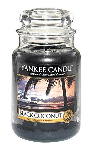 Yankee Candle Housewarmer Housewarmer Duftkerze im Glas, 625 ml, Black Coconut