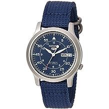 Seiko SNK807 - Reloj de pulsera para hombre, azul
