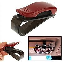 HaifischTech - Soporte de vehículo para gafas, color rojo