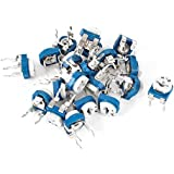20pcs 472 K 4,7 Ohmio Resistor Variable Horizontal Trimmer Potenciómetros