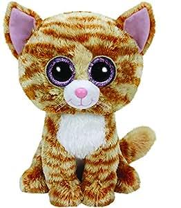 Ty - TY37034 - Beanie Boo's - Peluche Tabitha Chat 23 cm