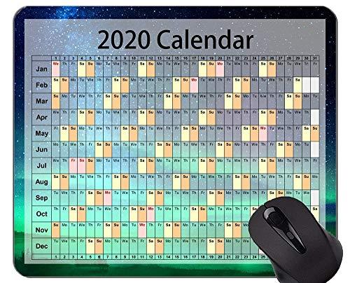 Yanteng 2020 Mouse Pad da Gioco Mouse Pad Personalizzato, Bella Vista Mouse da Ufficio
