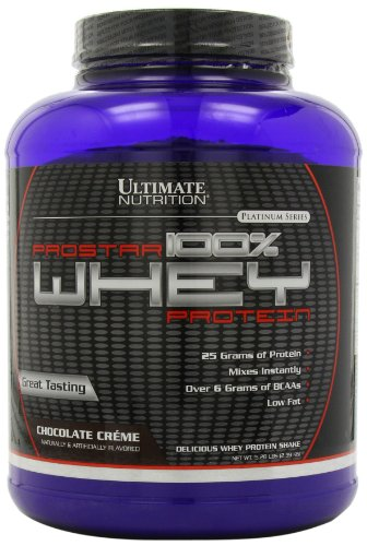 Ultimate Nutrition Prostar 100% Whey Protein - 5.28 lbs (Chocolate Crème)