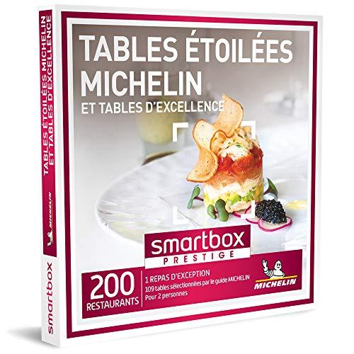 SMARTBOX - Coffret Cadeau - TABLES ÉTOILÉES ET TABLES D'EXCELLENCE - 200...