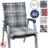 Beautissu Niedriglehner Auflage für Gartenstuhl Loft NL Sunny 100x50x6cm Bequemes Sitzkissen Polsterauflage UV-Lichtecht