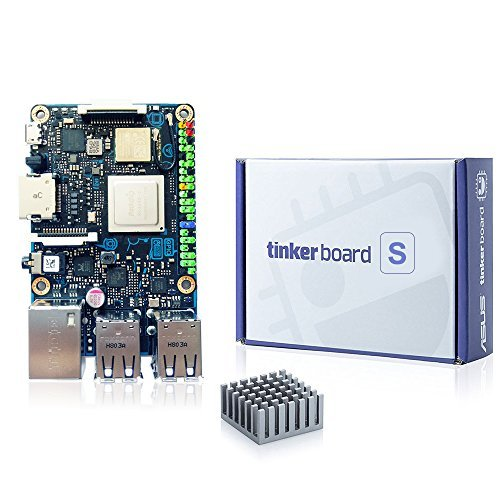 SmartFly info ASUS SBC Tinker board S RK3288 SoC 1 8GHz Quad Core CPU,  600MHz Mali-T764 GPU, 2GB LPDDR3 & 16GB eMMC Development TinkerboardS