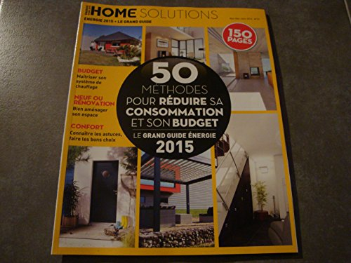 HOME SOLUTIONS N°27 le grand guide 2015 !!