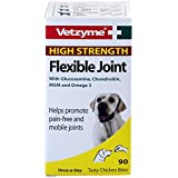 Vetzyme Flexible Joint, Extra strenght Tablets 90 Tablets for cats, dogs and pets -Valentina Valentti UK