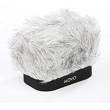MOVO WS-R30 Pantalla Contra el Viento Profesional con Tecnología de Espuma Acústica para Grabadoras Digitales Portátiles Zoom H4n, H5, H6, Tascam DR-40, DR-100 MKII & Sony PCM-D50