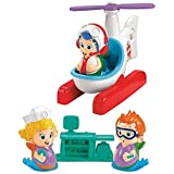 Fisher Price Bubble Guppies Helicopter Check-Up Set by Nickelodeon