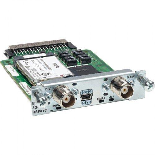 Cisco 3G wireless Enhanced High Speed WAN Interface Version HSPA+7 (GPRS, EDGE, UMTS) (Cisco Wifi Router)