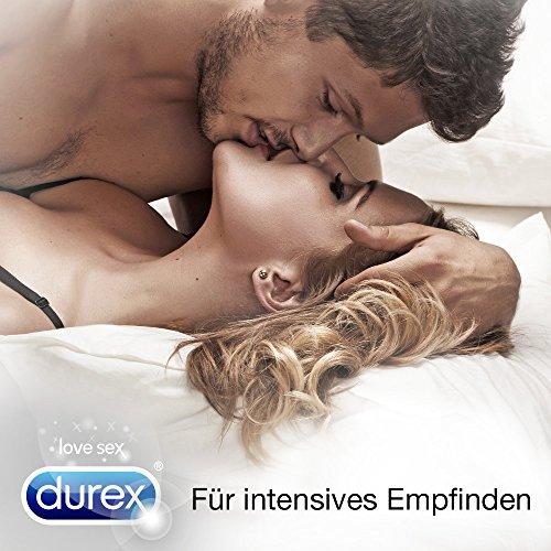 Durex Invisible Kondome, extra dünn für intensives Empfinden, 12er Pack (1 x 12 Stück) - 6
