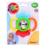 Simba 104013558 - ABC Activity Rassel 12 cm