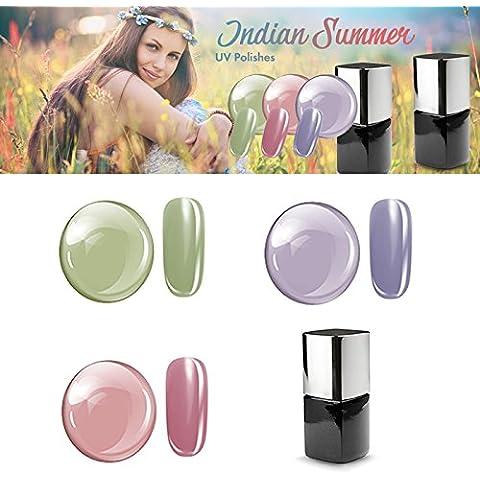 UV Polish Set Indian Summer 3x 12ml
