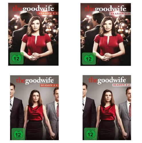 Staffel 1.1-2.2 (12 DVDs)