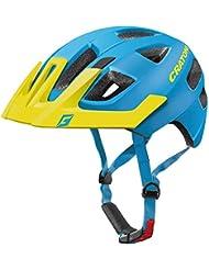 Cratoni Casco MAXSTER Pro Kid Talla XS/S 46–51cm Azul Mate Amarillo