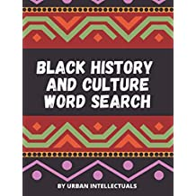Black History and Culture Word Search
