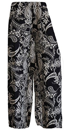 Paisley Palazzo Pants. Other Designs Available. Sizes 8 to 26
