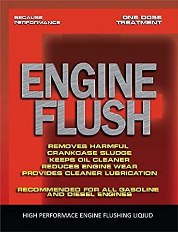 ENGINE FLUSH CLEANER for PETROL or DIESEL ENGINES pre OIL CHANGE VAN JEEP MPV