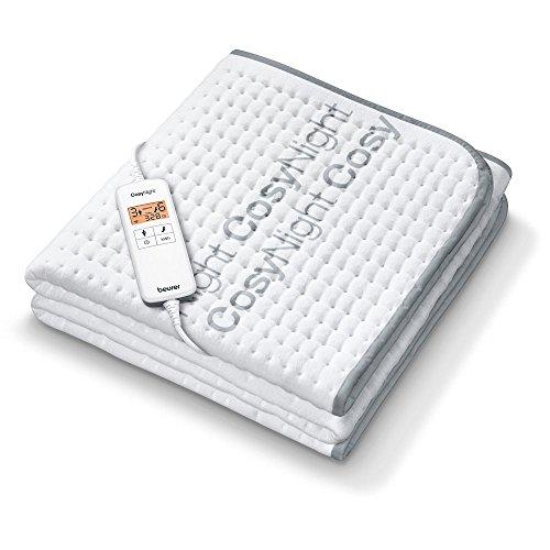 Beurer UB 190 CosyNight Komfort-Wärmeunterbett, fernsteuerbar über App und Amazon Alexa, zwei Temperaturzonen