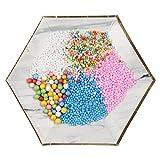 TianranRT Craft Schaum Perlen Styropor Craft Schaum Perlen Styropor Ball für Schleim DIY und Dekorativ Ball Kunst Spielzeug