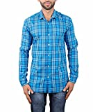 Maclavaro Mens Casual Shirt_9nbluechcks_...