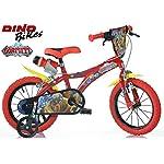 BICICLETTA-DINO-BIKES-Bici-Bambino-Misura-14-GORMITI-Art-614-GR-Made-in-Italy