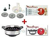 Moulinex Kit accessoires vapeur + taille TRITA LÉGUMES Cuco cuisine Companion