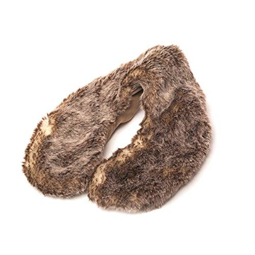 Warmies Wolf Fur Lavender Microwavable Neck Warmer by Warmies (Wrap Entspannung)