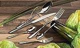 6 Stück Fischmesser Tafelmesser – Menümesser Speisemesser Fisch Messer – Besteck Liselle - 2