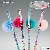 TOPModel Bleistift mit Puschel - SO HAPPY pink Janet Depesche Biz NEU