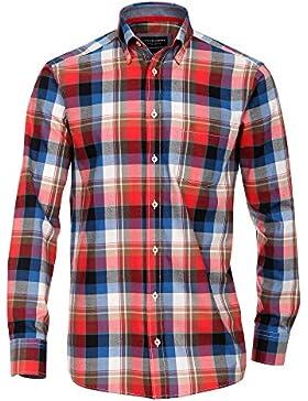 CASAMODA Herren Businesshemd 431878400 Regular Fit bügelleicht