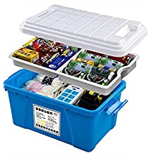 RUIRUI Bagagliaio di stoccaggio box auto forniture automobilistiche stoccaggio multifunzionale , blue