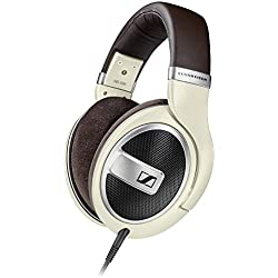 [Cable] Sennheiser HD 599 - Auriculares de diadema abiertos (6.3 mm/3.5 mm), color marfil