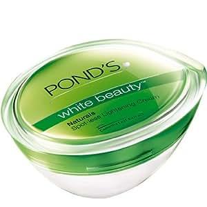Ponds White Beauty Naturals Spot-less Lightening Cream (25g)